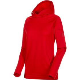 Mammut Runbold warstwa środkowa Kobiety czerwony